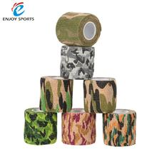 5cmx4.5m Army Camo Outdoor Hunting Shooting Tool Camouflage Stealth Tape Waterproof Wrap Durable Stretch Bandage for Gun