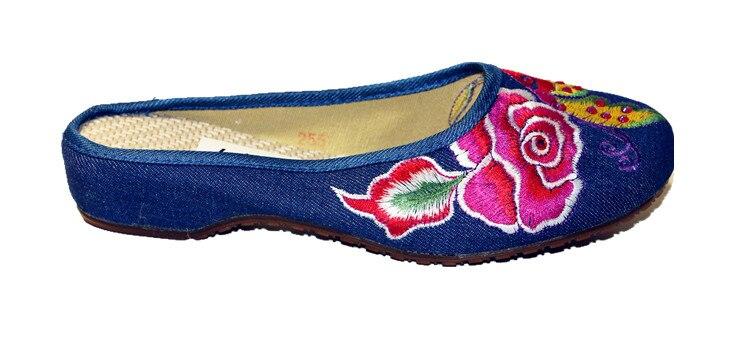 Etnilise tikandiga kingad