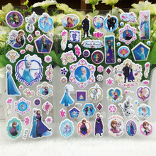 one piece High Quality Children Cartoon autocollant Puffy Stickers PVC Anime Sticker pegatinas adesivos scrapbooking