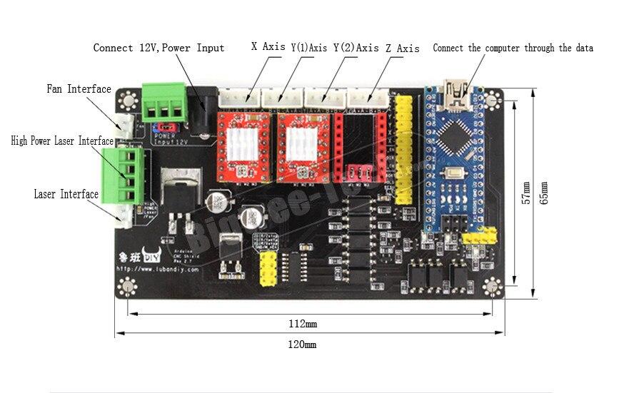 keyestudio 3D DRUCKER Controller Kit f/ür Arduino mit CNC Shield v0.9 a 4 A4988 Stepper Motor Treiber mit K/ühlk/örper-Kits f/ür Arduino RepRap