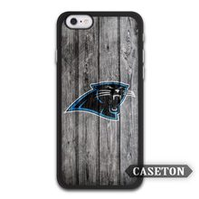 Carolina Panthers Football Case For iPhone 7 6 6s Plus 5 5s SE 5c 4 4s and For iPod 5