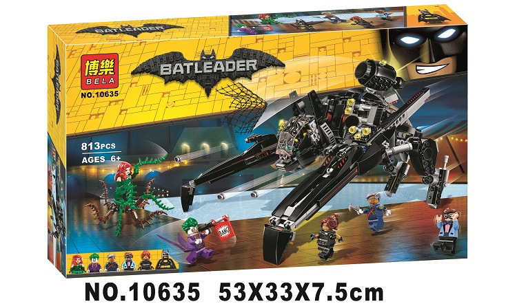 NEW 813pcs 10635 BATMAN MOVIE The Scuttler Building Blocks set DIY Bricks toys Gift for children Compatible With 70908<br>