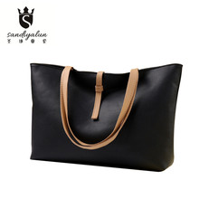2016 Casual Female Tote Bags Korea Style Fashion Handbags New Oracle Women Simplicity Bag Large Capacity Single Shoulder Bag
