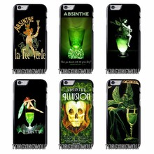 Absinthe The Green Fairy popular cover Case for Samsung A3 A5 A7 2015 2016 2017 Sony Z1 Z2 Z3 Z5 Compact X XA XZ Performance