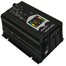 300W 500W Car Power Inverter 12V 220V DC To AC Multi function Converter Power Adapter LED Digital Display Volt Monitor