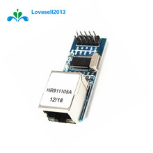 2pcs ENC28J60 Ethernet LAN Network Mini 51/AVR/ARM/PIC Code For Arduino SPI Port Module(China)