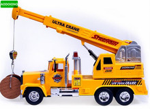 RC Child Remote Control Truck Crane Mechanical Engineering Car Educational Toys Coches A Escala Excavadora Juguete