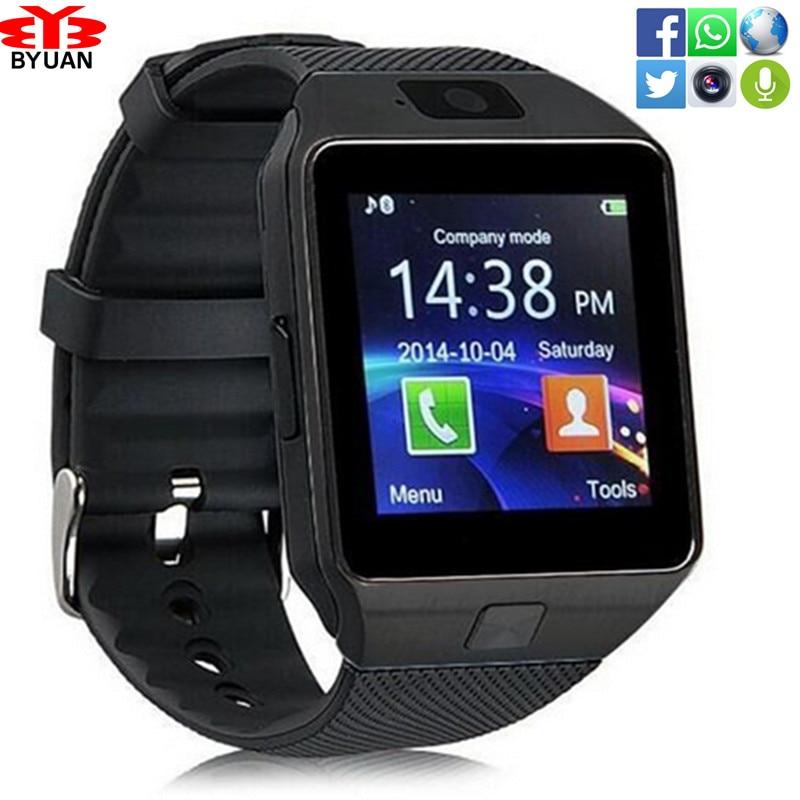 In Stock Wearable Device DZ09 Bluetooth Smart Watch Support Camera SIM TF Card Wrist Phone Watch sport wristwatch Multi-language<br><br>Aliexpress
