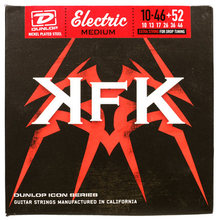 Dunlop KKN1052 Kerry King Icon Series Signature Electric Guitar Strings, Medium, .010-.052, 7 Strings/Set