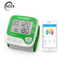 Koogeek Smart Memory Function Digital Blood Pressure Tester LCD Heart Rate Monitor Wrist Blood Pressure Meters Health Care Tool