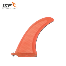 orange surfboard longboard fins quilhas paddle surfboard Fcs fin