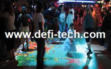 Low price 3D projection screen interactive floor projection system, for Advertising,Company Reception Areas