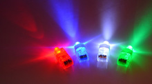 50pcs/lot Multi color led finger ring bright laser ring toys for party bar supplies magic light up finger ring glow toys