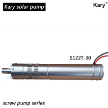brushless Screw low voltage solar tube well water pump 12v dc