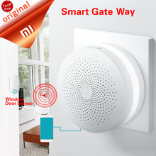 Original Xiaomi Gate way Mi Smart Control Center Smart Home Kit Upgrade version Control Radio Yi Camers other smart home kits(China)