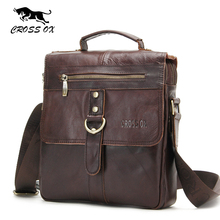 CROSS OX 2017 Spring New Arrival Shoulder Bag For Men Genuine Leather Bags Men's Bag Messenger Bag Business Portfolio SL394M