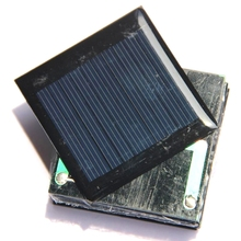 BUHESHUI 0.25W 5V Polycrystalline Mini Solar Cell Module DIY Solar Panel Charger For 3.7V Battery System Led Light 50*50MM 10pcs(China)