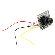 2.1mm lens fish eye wide view fpv camera sharp ccd cctv camera for RC Quadcopter Drone FPV Photography(China)