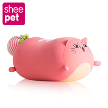 Sheepet big size cat doll plush toy girl birthday gift kawaii peluche juguetes high quality(China)