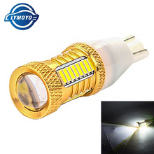 2x Car LED Lamp W16W Led T15 4014 Chip 43led smd Backup Reverse Light Bulb for VW Volkswagen Audi BMW Mercedes-Benz Mini FIAT