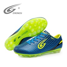 Soccer Shoes Men Light Weight Mesh Breathable Platform Sneakers Good Quality Outdoor Shoes AA20160(China)