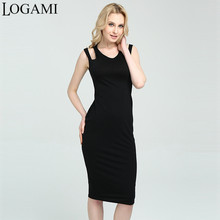 Buy LOGAMI LOGAMI Womens Dresses New Arrival 2017 Sleeveless Sexy Dress Club Wear Summer Casual Midi Bodycon Dress Vestidos for $12.24 in AliExpress store