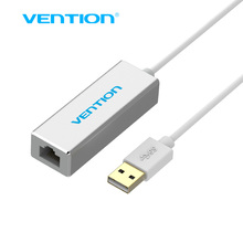 Vention USB 2.0 to RJ45 Lan Network Ethernet Adapter Card For Mac OS Android Tablet pc Laptop Smart TV Win 7 8 XP at 10/100Mbps(China)