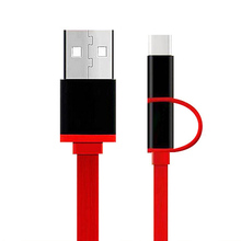 New 1m V8 Micro USB Type C Combo Male Data Charging Cable Multi Charging Port For iphone SE 5 5S 6 6S Samsung Xiaomi Huawei