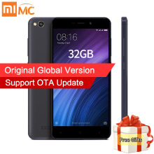 Global Version Original Xiaomi Redmi 4A 2GB 32GB Mobile Phones Snapdragon 425 Quad Core 5.0 Inch 13MP Camera MIUI 8.1 OTA Update(China)