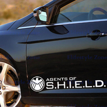 10 x New Agents Shield Decoration Stickers Decal Car Whole Body Decals BMW Benz Audi Fiat Toyota Honda Tesla