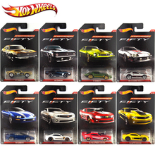 Hot Wheels Car Collector's Edition Camaro 50th Anniversary Metal Diecast Cars Collection Kids Toys Vehicle For Children Juguetes