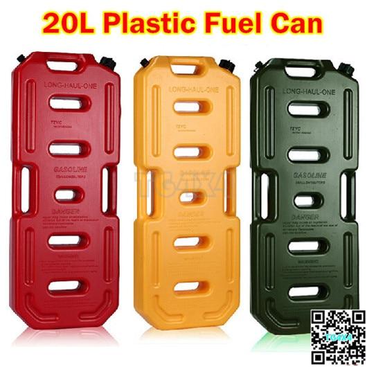 20L Jerry Can Plastic Petrol Fuel Tanks 5GAL Oil G...