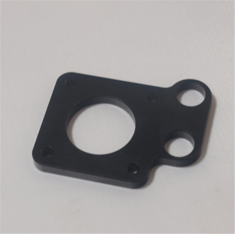 Reprap Prusa CNC black color metal Y-motor mount plate Sturdier RepRap Prusa i3 Aluminum y-motor mount for NEMA 17 stepper motor<br><br>Aliexpress