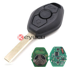 High Quality Keyless Entry 3 Button CAS2 Remote Key 868MHz ID7944 for BMW 1 3 5 6 Series X5(China)