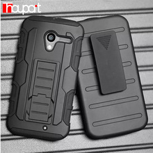 For Motorola Moto X XT1055 XT1053 XT1056 XT1058 Case Soft silicone + PC 3 in 1 Heavy Duty Military Armor holster phone Cover