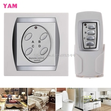 4-Channel ON/OFF Control Switch Power Digital Wireless Remote Control Light Lamp #G205M# Best Quality(China)