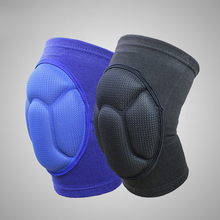 YD Hot 1 Pair Thickening Kneepad Sock Sport Safety Football Padded Knee Brace Compression Knee Sleeve Protector Knee Pads