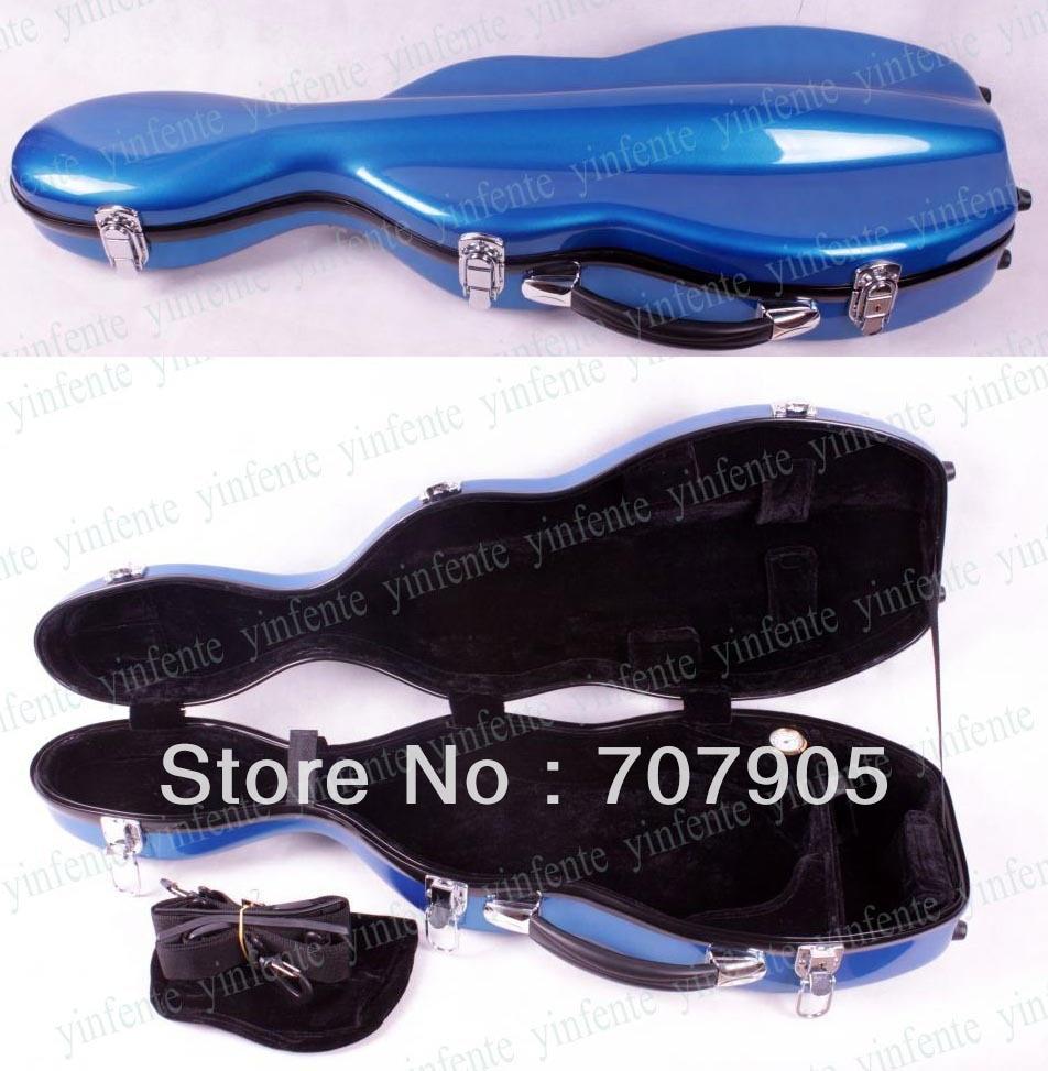 One Violin case 4/4 Glass fiber Waterproof Light Durable Dropshipping Wholesale reinforced Blue<br><br>Aliexpress