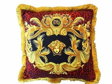 Free shipping High quality velvet fabric europe classical design luxury royal sofa chair cushion CUSHION COVER ONLY