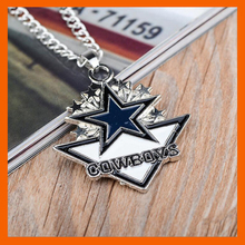 NEW DESIGN DALLAS COWBOY AMERICA FOOTBALL CHAMPIONSHIP NECKLACE MEN JEWELRY FANS COLLECTIONS