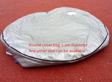 Norway spa Insulated UV Weatherproof Round hot tub spa cover bag 2.2m round(Hong Kong)