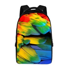 17-inch computer backpack fashion boys girls school bag easy to store computer bag children's backpack