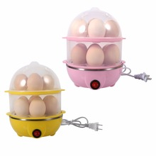 Multi-functional Electric Eggs Boiler Double-Layer Egg Boiler Cooker Steamer Home Kitchen Use 220V
