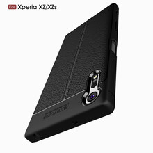 Buy Sony Xperia XZ / XZS Case Luxury PU Leather Soft TPU Back Cover Silicone Case Sony Xperia XZ Premium Phone Shell Capa for $2.99 in AliExpress store