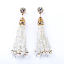 Special Store Imitation Pearl Jewelry Tassel Beads Perfume Female Earrings My Chemical Romance
