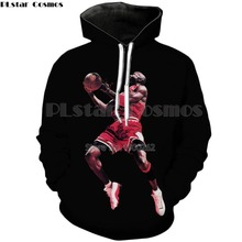 PLstar Cosmos Michael Jordan Slam Dunk 3d Hoodies printing Sweatshirts Women Men Tracksuits size S-5XL(China)