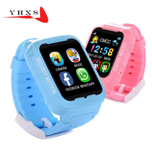 Waterproof Smart Kids GPS Safe Anti-Lost Monitor Camera Sim Card Watch Phone Facebook MP3 SOS Call Location Tracker Smartwatch