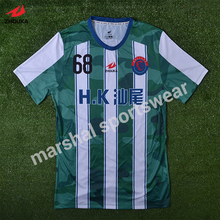 custom football team jersey full sublimation print personalized soccer shirts tailandia camisetas de futbol maillots de football