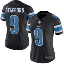 2016 Rush Limited Women's Detroit Lions Matthew Stafford Black Color Top Quality,camouflage