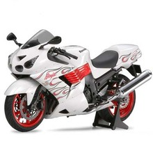 Assembly Model Motorcycle 14112 1/12 Kawasaki Ninja ZX - 14 Bikes(China)